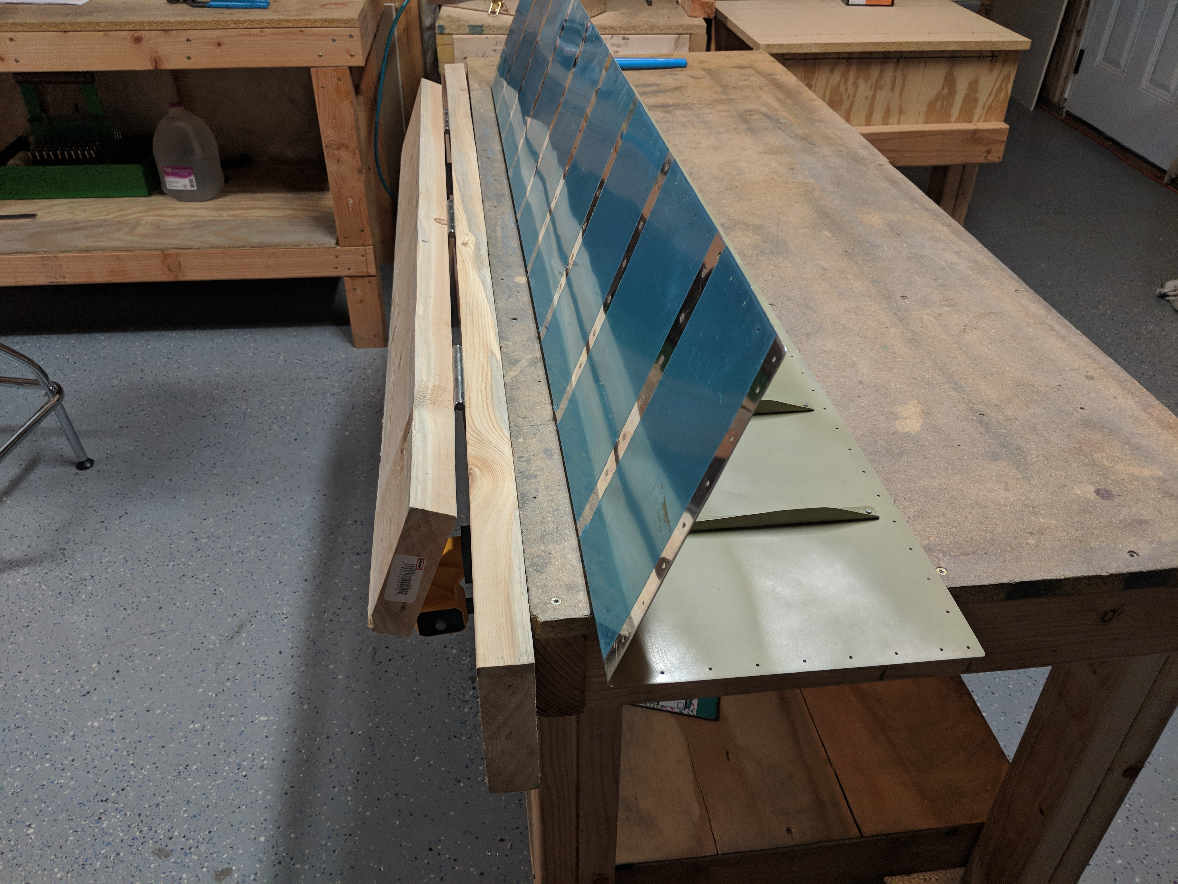 Bending the Aileron Skins – Lynn's RV-7